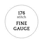 176 stitch - Fine Gauge