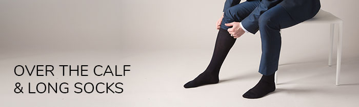 Over The Calf / Long Socks for Men